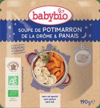 BABYBIO tekvicové polievka s paštrnákom 190g