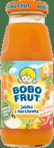 BOBO FRUT 100% sok jabłko z marchewką 175ml