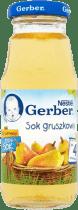GERBER 100% sok gruszkowy (175ml)