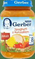 GERBER Spaghetti z kurczakiem (190g)