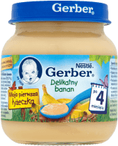 GERBER Delikatny banan (125g)