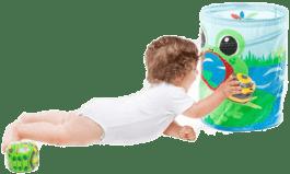 BABYBIRDS Žába - házecí hra s míčky