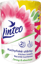 LINTEO XXL Papierowe ręczniki kuchenne, dwuwarstwowe, 50 m., 1 szt.