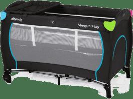HAUCK Cestovná postieľka Sleep N Play Center Multicolor black 2016