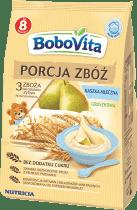 BOBOVITA Kaszka Porcja zbóż mleczna - 3 zboża gruszka (210g)