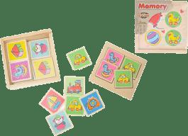 2-PLAY Memory drewniane – kwadratowe
