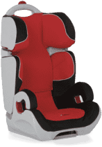 HAUCK Fotelik samochodowy Bodyguard 2/3 black/red 2016