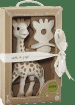 VULLI Zestaw żyrafa Sophie + gryzaczek z kolekcji So'Pure Sophie
