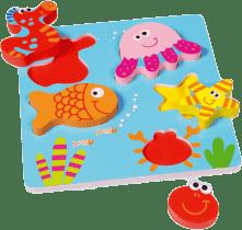 SCRATCH Vkladacie puzzle Morský svet