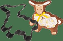 TESCOMA Forma do pieczenia/ forma do wykrawania Owieczka Wielkanocna DELICIA