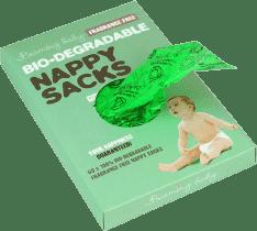 BEAMING BABY Organické sáčky na použité plienky bez vône, 60 ks