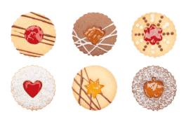 TESCOMA Foremki do wykrawania kruchych ciastek tradycyjnych DELÍCIA 8szt.