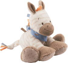 NATTOU Hračka plyšová hrkacia zebra Arthur 18 cm