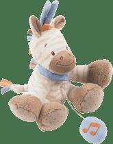 NATTOU Zabawka grająca Zebra Arthur 18 cm