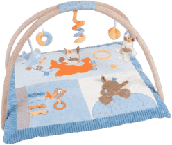 NATTOU Hracia deka s hrazdičkou Arthur & Louis