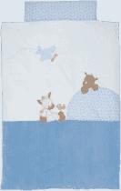 NATTOU Povlečení - přikrývka 100x140 cm, polštář 40x60 cm Arthur & Louis