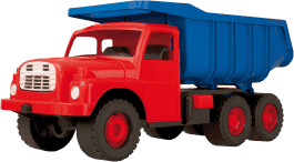 DINO Ciężarówka Tatra niebiesko-czerwona