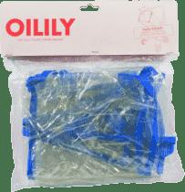 OILILY Folia przeciwdeszczowa do wózka sportowego, Blue