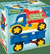 WADER Auto gigant truck + dziecięca bocznica