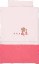 NATTOU Obliečky - paplón 100x140 cm, vankúš 40x60 cm Rose & Charlotte