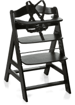 HAUCK Jídelní židlička Alpha+B blackwashed 2016