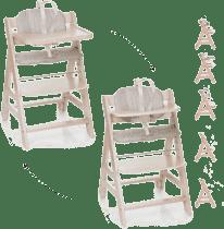 HAUCK Krzesełko do karmienia Beta+B whitewashed 2016