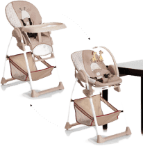 HAUCK Jedálenská stolička Sit N Relax Giraffe 2016