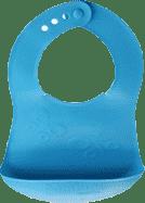 TESCOMA Podbradník s vreckom BAMBINI, motýle - modrá