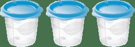 TESCOMA Dóza na dětské pokrmy BAMBINI 150ml, 3ks - modrá