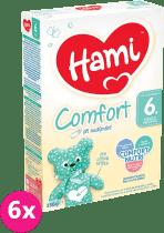 6x HAMI 2 Comfort (350g) – dojčenské mlieko
