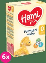 6x HAMI 1 (600g) - dojčenské mlieko