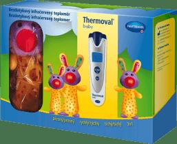 HARTMANN Thermoval baby darčekové balenie - bezdotykový teplomer + hračka