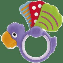 CHICCO Grzechotka skrzydełka Papuga
