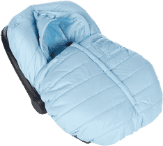PASITO A PASITO Śpiworek do fotelika samochodowego Montblanc Winter, Blue