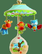 TINY Love Hudobný kolotoč s lampičkou a projekciou na strop