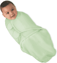 SUMMER INFANT Zavinovačka SwaddleMe S zelená