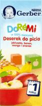 Data ważności 30.06.2016: GERBER Doremi Deserek do picia - jabłko, banan, mango i ananas 200ml