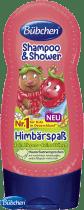 BÜBCHEN Kids šampon a sprchový gel 2v1 Veselá malina 230ml