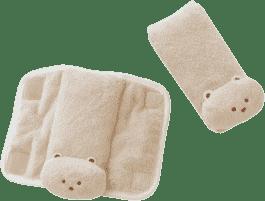 SUMMER INFANT Nakładki na pasy bezpieczeństwa Tan Bear 2 szt.