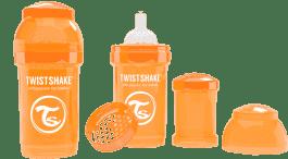TWISTSHAKE Antikoliková láhev 180ml Oranžová