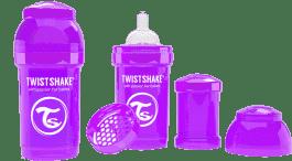 TWISTSHAKE Antykolkowa butelka 180ml Fioletowa