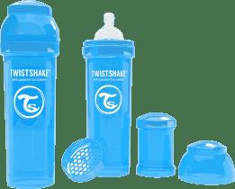 TWISTSHAKE Antykolkowa butelka 330ml Niebieska