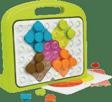 CLIC educ Mozaika s kufříkem - Tvary a barvy
