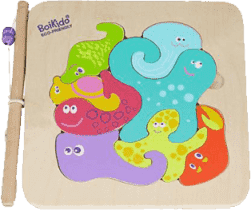 BOIKIDO Puzzle morskie 2w1