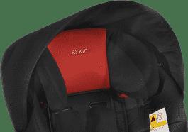 AXKID Daszek przeciwsłoneczny do fotelików KidZone/KidZofix Black