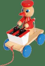 BINO Tahací kačer s xylofonem