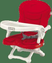 CAM Jedálenská stolička SMARTY s polstrovaním - červená