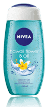 NIVEA Sprchový gel Hawaiian Flower & Oil (250ml)