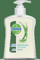 DETTOL Tekuté antibakteriální mýdlo – Hydratační (250 ml)