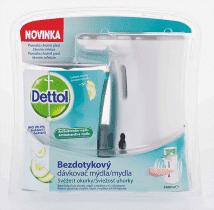 DETTOL Bezdotykový dávkovač mydla - Sviežosť uhorky 250 ml
